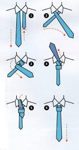 Завязать галстук из ленты своими руками 61