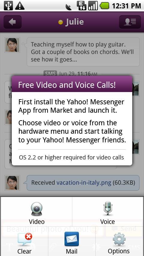 Yahoo! Messenger Plug-in messenger yahoo messenger