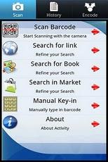 QR BARCODE SCANNER - Lite lite options scanner
