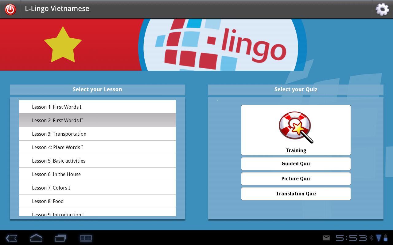 L-Lingo Learn Vietnamese HD learn vietnamese