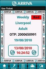 Arriva m-ticket