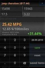 fuel calculator mileage calculator mileage total