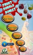 Fruit Bubble Burst Pro bubble fruit game