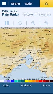 BoM Melbourne