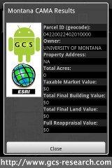 Montana Parcel App