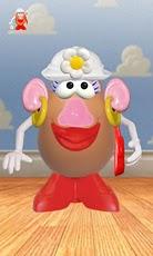 Potato Pal - Mrs Potato TS flew potato racing