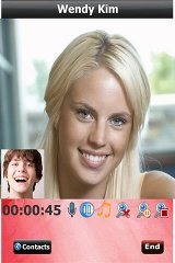 Real-time Mobile Video Chat mobile real time