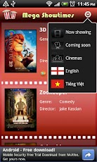 Mega Movie Showtimes Vietnam