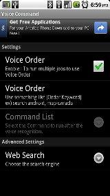 Voice Command command