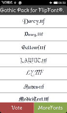 Gothic Fonts Install Free