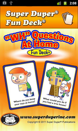 """WH"" Questions At Home home quot"