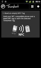 Timesheet NFC Add-On