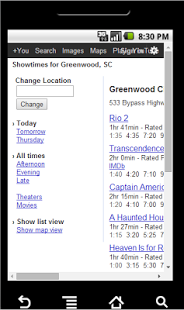 Greenwood Movie Showtimes