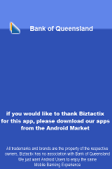 Bank of Queensland Mobile Bank