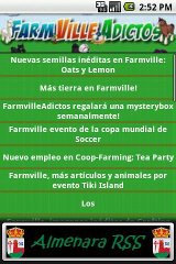 Farmville RSS
