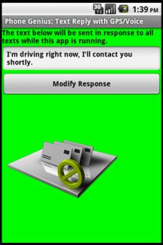 Phone Genius: SMS Reply Voice phone screenlock voice