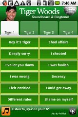 Tiger Woods Soundboard