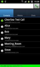 ClearSea - mobile video calls
