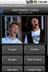 Bill and Ted Soundboard