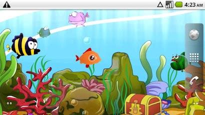 Cartoon Aquarium Live Wallpape Android App Z App | Desolisi
