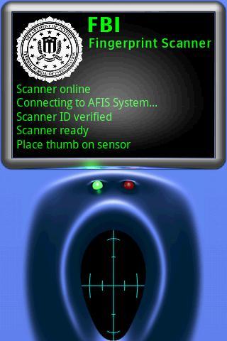 FBI Fingerprint Scanner fingerprint id