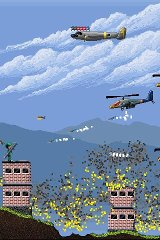 Air Attack (Ad) missiles attack