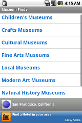 Museum museum stats