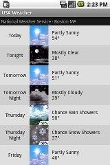 USA - Weather