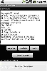 GPS TimeSheet deltek timesheet