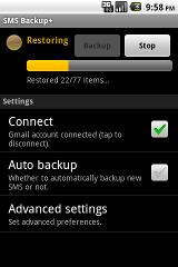 SMS Backup+ sms