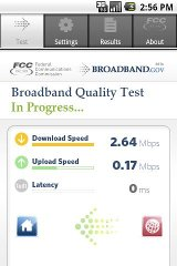 FCC Mobile Broadband Test