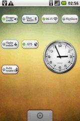 GPS Bar Widget widget