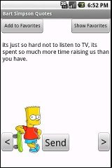 Bart Simpson Quotes bart simpson doing lisa