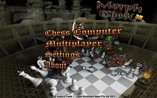 Morph Chess 3D morph voice morph