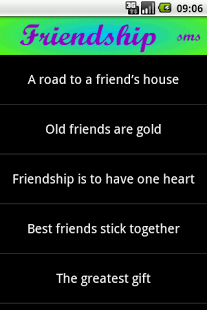 Friendship SMS II
