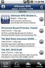 Ultimate NYG ultimate zip