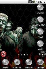 Zombie Theme makhluk theme zombie