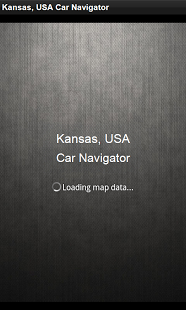 Car Navigator Kansas, USA
