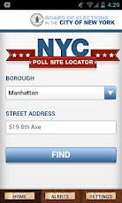 NYC BOE Poll Sites