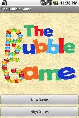 The Bubble Game bubble combat game