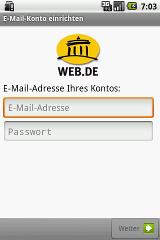 WEB.DE Mail lycos mail
