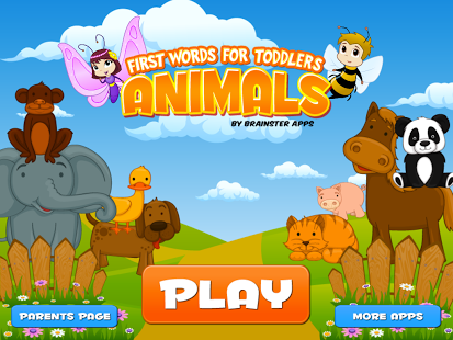 Help your child to learn about animals First Words for Toddlers 1