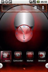 HD Theme:Red Cool cool theme tool