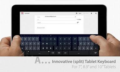 Thumb Keyboard (Phone/Tablet) keyboard phone