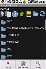 Simple File Manage file music simple