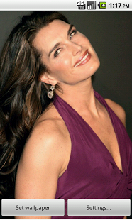 Brooke Shields Live Wallpapers brooke shields bathtub scene