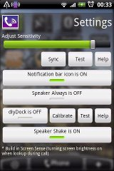 Speaker Shake - Advance