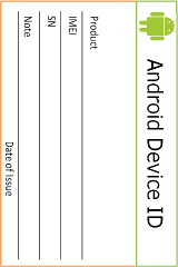 Android ID Card (Identifier)