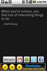 Disneyisms sms