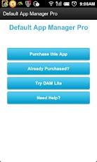 Default App Manager Pro default
